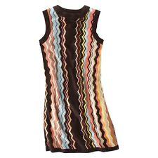 Missoni for Target Womens Sleeveless Sweater Dress Zigzag Multi Sizes NWT