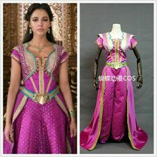 Adult Princess Jasmine red dress Cosplay Costume Cosplay Movie Aladdin Dress!9