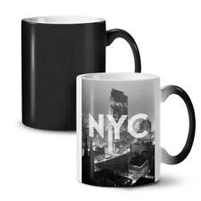 New York City Landmark Changeant Couleur Thé Tasse de Café 11 OZ (environ 311.84 g) | wellcoda