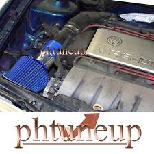 BLUE 1993-1998 VW VOLKSWAGEN CORRADO SLC GOLF GTI VR6 2.8 2.8L AIR INTAKE KIT