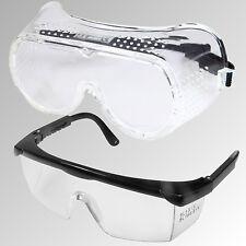 Arbeitsschutzbrille, Augenschutz,Schutzbrille Standard, Vollschutz o. Teilschutz