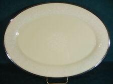 "Lenox Moonspun Oval 16 1/2"" Serving Platter"
