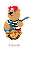 Hard Rock Cafe ST. MAARTEN, Pirate Bear Pin. LTD. #