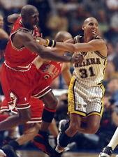 Reggie Miller vs Michael Jordan 1998 Pacers Huge Giant Print POSTER Affiche