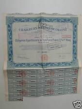 obligation  CHARGEURS D'EXTREME ORIENT obl 300 Frs
