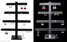 Ohrringständer Tischständer Schmuckständer für 136 Ohrringe