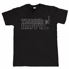 Trigger Happy Mens Radio Control Buggy Car Racing T Shirt