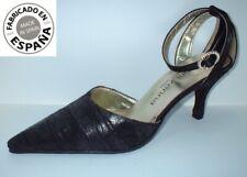 Zapato tacón Fiesta color Negro, tallas 36 y 39