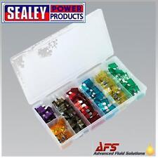 Sealey Automobile Fusible Lame Pour Voiture Assortiment 120pc BCF120