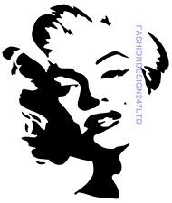 MARILYN MONROE MYLAR Stencil Craft arredamento dipinto wall art 125/190 Micron