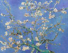 Vincent van Gogh, Almond Blossoms Purple 1890 Fade Resistant HD Art Print Canvas