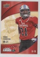 2013 Upper Deck USA Football Canada Rivals #C-2 Tanaka Chakwesha Rookie Card