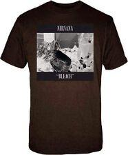 Official Nirvana Bleach Adult T-Shirt - Rock Band Kurt Cobain Music Tee