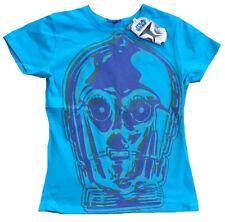 Official Star Wars C-3PO copyride Lucasfilm Ltd & tm. Rare Women T-Shirt G.S