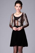 Ladies Elegant long Sleeve Dress Size 8,10 BNWT