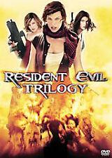 Resident Evil/Resident Evil: Apocalypse/Resident Evil: Extinction (DVD, 2008, 4…