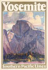 043 Vintage Travel Poster Art Yosemite