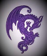 MINI RICAMATO barocco / Tatuaggio Stile DRAGON Motif / patch / APPLIQUE