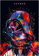 Star Wars Father Poster Starwars STWA01 ART PRINT A4 A3 BUY 2 GET 3RD FREE