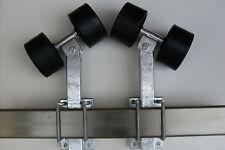Sliprollen mit Pendel für Bootstrailer, Sliphilfe,1Paar, 2 Stützenlängen wählbar