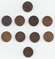 EDWARD VII Farthing 1/4d 1902 1903 1904 1905 1906 1907 1908 1909 1910