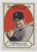 2005 Topps Cracker Jack #148 Jason Giambi New York Yankees Baseball Card