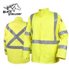 Revco Black Stallion TruGuard 250 FR Welding Jacket w/ Reflectives JF1117-HY