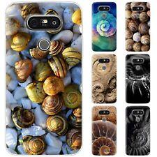 dessana Fossil TPU Silikon Schutz Hülle Case Handy Tasche Cover für LG