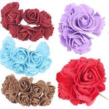 Mazzo di 10 5cm Open Schiuma rose-Matrimonio Bouquet Artificiale solido