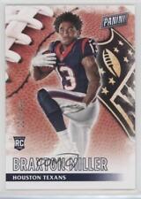 2016 Panini Black Friday Football #51 Braxton Miller Houston Texans RC Card