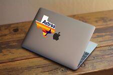 ML-02-04 Houston Astros Retro Logo state of Texas Logo vinyl sticker decal