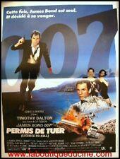 LICENCE TO KILL Affiche Cinéma Movie Poster JAMES BOND