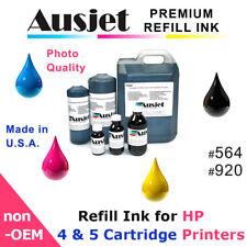 Ausjet Refill or CISS Ink for HP cartridge 564, 920,Photosmart,Officejet,Deskjet