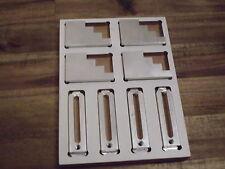 Schubladeneinsatz für 4xM6 Alu Spannpratze + 4xTreppenbock Tobsk-CNC