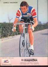 DANIELE MAZZIERO Cyclisme MAGNIFLEX 75 ciclismo Cycling equipo ciclista 1975
