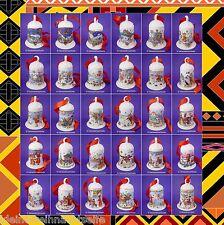 Hutschenreuther Weihnachtsglocken, 1978 - 2018 mit Band, 7cm  - Einzelverkauf -