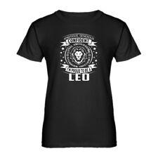 Womens Leo Astrology Zodiac Sign Short Sleeve T-shirt #3585