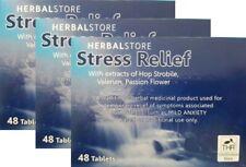 herbes MAGASIN ANTISTRESS,anxiété pilules,48 comprimés,naturel traditionnel