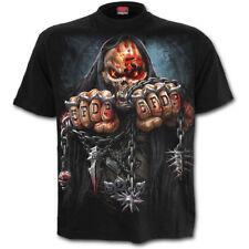 Spiral Unisex Metal T Shirt Five Finger Death Punch GAME OVER Reaper
