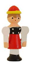 NEW Novelty Wood Girl Cuckoo Clock Figure - Made in Germany (CC-205)