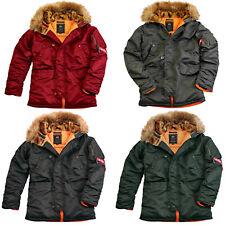 Alpha Industries Herren Winterjacke N3B VF 59 Parka 103141 S M L XL XXL XXXL
