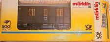 Wagon de musée postal Märklin 4500 PMS 60-01 H0 1:87 # å