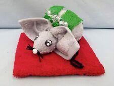 Handtuch Geschenk Figur Maus Waschlappen Gastgeschenk Glück Taufe Ostern