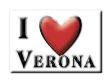 CALAMITA VENETO ITALIA FRIDGE MAGNET MAGNETE SOUVENIR I LOVE VERONA (VR)