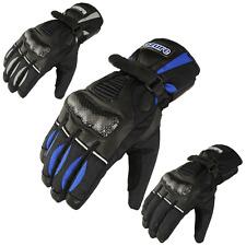 Motorbike Winter Gloves Motorcycle Racing Waterproof Thermal Cow Leather 1353
