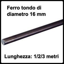 barra tonda in ferro pieno profilo tondo tondino tondini di diametro 16 mm barre