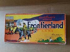 Walt Disney's Frontierland game 1955 vintage GAME PARTS