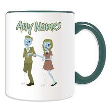 Personalised Gift Zombie Couple Mug Money Box Cup Walking Dead Devil Apocalypse