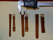Buffalo Grain Leather Watch Strap - Tan Colour, Various Sizes