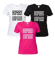 Mamma dal.... Nonna dal..... Maglietta Personalizzata con l'anno Idea Regalo